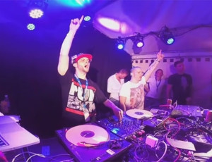 Robin Tune & DJ Ecko @ Luzerner Fest 2015 (CH)